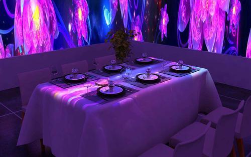 餐厅全息投影